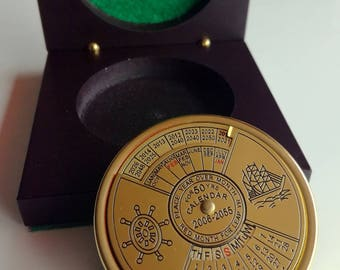 Harris 50 Year Calendar - Paperweight, Desk Accessories