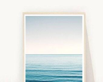 Coastal Decor, Coastal Print, Sea Print, Sea Photo, Printable Art, Instant Download, Modern Wall Art, Home Decor, Wall Decor