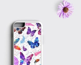 Butterfly iPhone 6S Case, iPhone 6 Case Butterfly - Butterfly iPhone X Case, Butterfly iPhone 6 Plus Case, Butterfly iPhone 8, Gift for Her