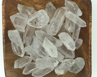 Clear Quartz Rough Points - Natural Quartz Points - Clear Quartz Points - Crown Chakra - All Chakras - Energy Healing