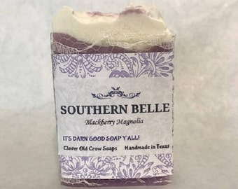 Southern Belle Magnolia Soap