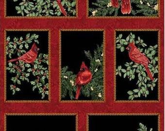 1 Panel (2/3 yd) - Festive Season Fabric by Benartex