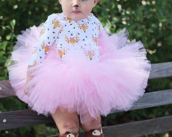 Pink tutu, Valentine Tutu, baby girl tutu, princess tutu,  expecting mom gift, full tutu, birthday tutu, photography prop