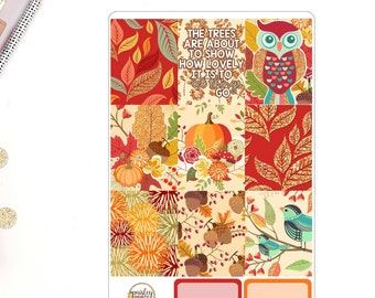 Let Things Go Weekly Planner Sticker Kit for use in Erin Condren Life Planner