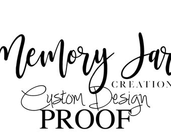 Custom Design Proof - See Your Design Before It Is Printed