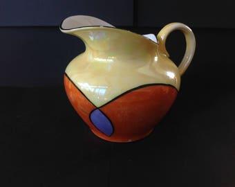 Vintage C.T. Altwasser Silesia Lusterware Creamer Art Deco Design 1920s Germany