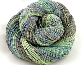 Coastal - Sport weight hand spun yarn - Rambouillet