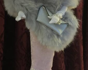 """Handmade """"Solo in the Spotlight"""" (pink) reproduction outfit for Gene/Violet/Madra, Tonner Tyler Wentworth and other 15-1/2"""" fashion dolss"""
