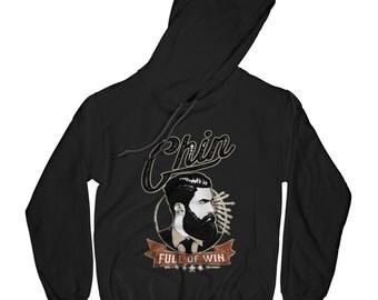 Win hoodie beard hoodie hipster hoodie vintage badge hoodie barber hoodie barber gift gentlemen hoodie royal hoodie    AP77