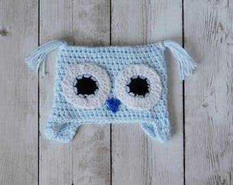 Owl beanie- owl hat- owl baby hat-owl baby beanie- baby owl- owl baby prop- owl baby gift- baby owl hat- owl- baby beanie- owl costume