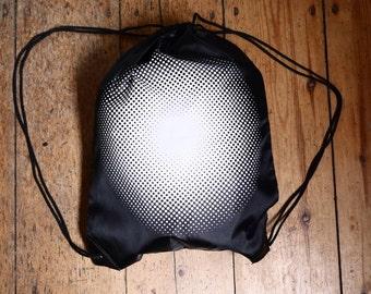 The Magic Dot - screenprinted drawstring bag