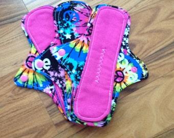Reusable Panty liner set of 3,reusable pads, RUMPS, reusable pad set, Pantiliner