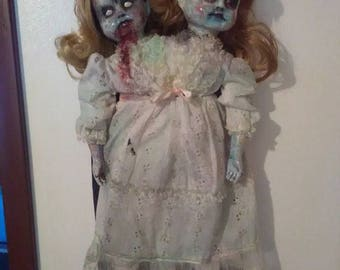 Haunted Doll! Possessed Conjoined Twins Scary Doll !