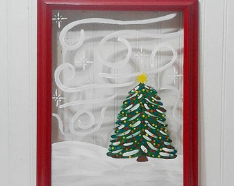 Christmas Painting Decoration
