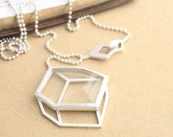 Mind Monocle Necklace