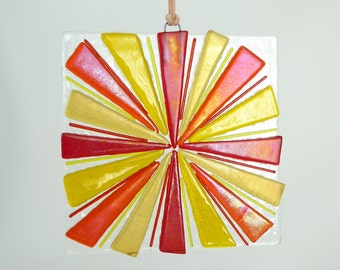 Fused Glass Sun Catcher