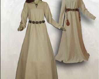 Simple medieval dress medieval dress S / m lines