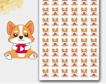 Blogger Corgi Stickers, Blogger Stickers, Blogging Stickers, Social Media Stickers, YouTube Stickers