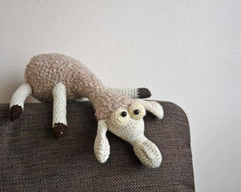 Crochet Sheep/Crochet Toy/Lamb Sheep Toy/Crochet Lamb/Gift for a girl boy