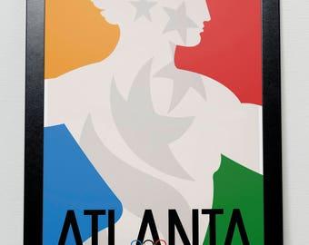 Atlanta Olympic Games 1996 USA Poster
