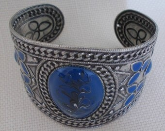 Cobalt Blue Cuff Bangle