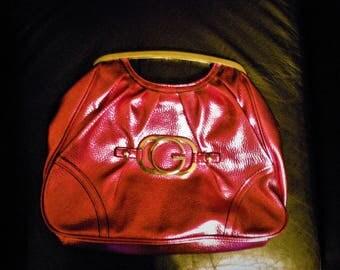 Vintage Guess Bag Hot Metallic Pink
