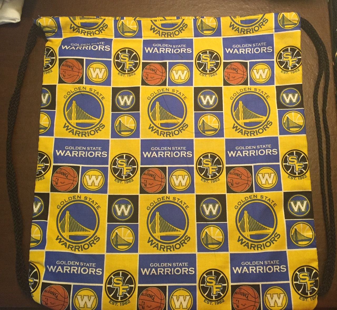 NBA Golden State Warriors Drawstring Backpack [E10190947032121961M ...