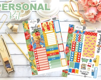 Beach Girl Collection Personal Kit    70+ Planner Stickers