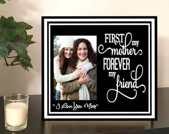 Mom frame - mom picture frame - personalized picture frame for mom - mom photo frame - mothers day picture frame - mother's day frame