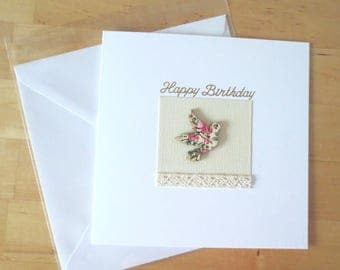 Birthday card for her, Birthday cards HANDMADE, Greeting cards handmade, Handmade greeting  card, Birthday card handmade ,Etsy uk, uk seller