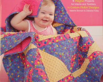 Wee Wonder Quilt Book.  Five projects listed.