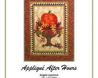 AUTUMN Elegance Applique Quilt Pattern, from Applique After Hours.