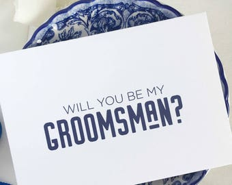 Will You Be My Groomsman Card, Groomsmen Proposal, Groomsman Invite, Asking Groomsman, Gift Best Man, Groomsman Invitation, Groomsmen Card
