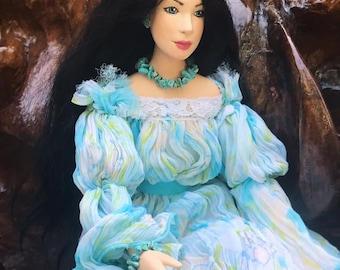 OOAK handmade collectional boudoir doll