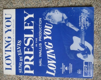Elvis Presley Loving You Sheet Music