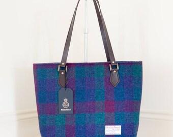 Handbag / Ladies Tote Bag / Tweed Tote / Tweed Handbag