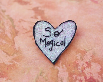 SALE Believe in Magic Collection - Glittery So Magical Pin