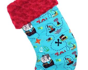 lil Pirate Christmas Stocking