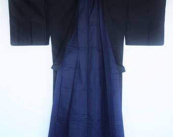 Mens Kimono  Settles when I wear it when I relax a little in the room.   When you approach Zen's feelings・・・