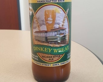 Dinkey Wheat - Beer Bottle Candle