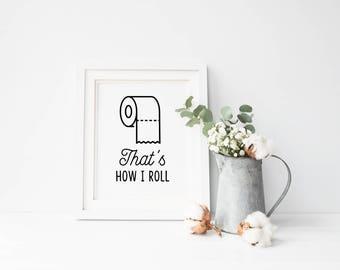 quote toilet paper etsy