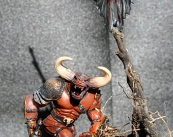 Diorama Minotaur