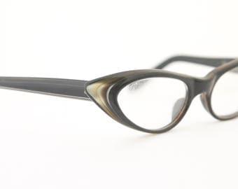 Catseye 1950s Optical Frames /1950s  France/ Rainbow brand