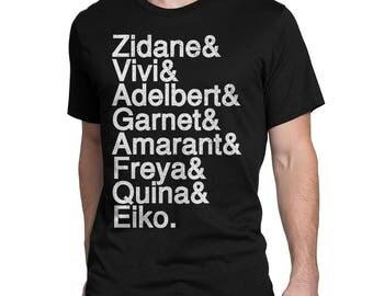 Zidane Team T-Shirt (Final Fantasy IX inspired)