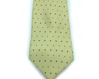 Dotty Dots 100% Silk Mens Tie