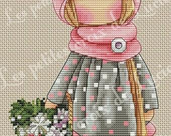 Cross stitch: spring