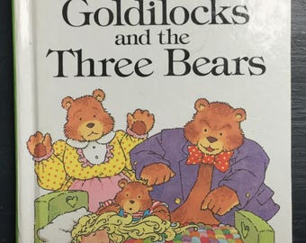 Vintage Ladybird Book- Goldilocks and the Three Bears