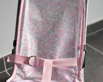 Cane seat liberty coated stroller