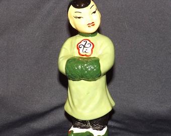 Oriental Ceramic Statue