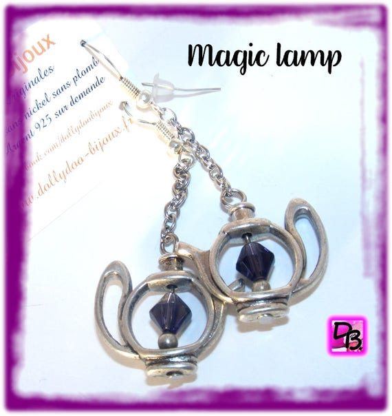 Boucles d'oreilles [Magic Lamp]